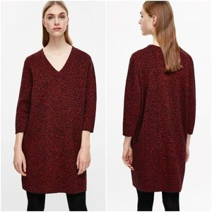 COS   Jacquard Knit Dress